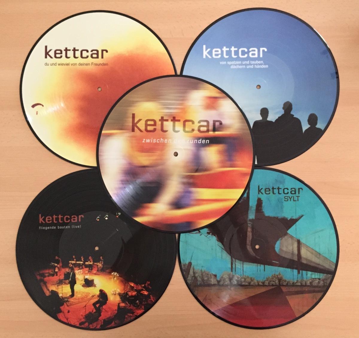 """kettcar - Werkschau 5x 12"""" LP"""