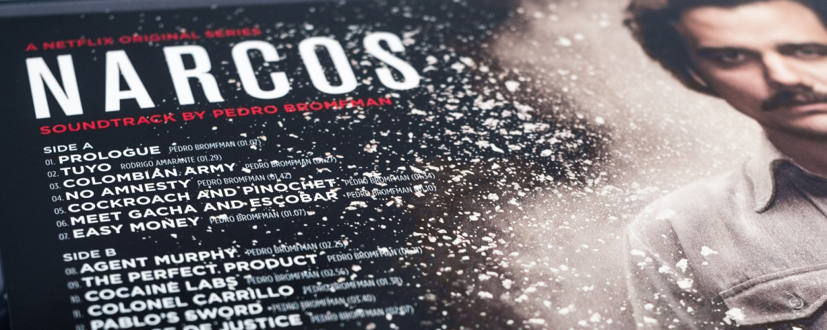 Narcos Soundtrack by Pedro Bromfman 2x12""